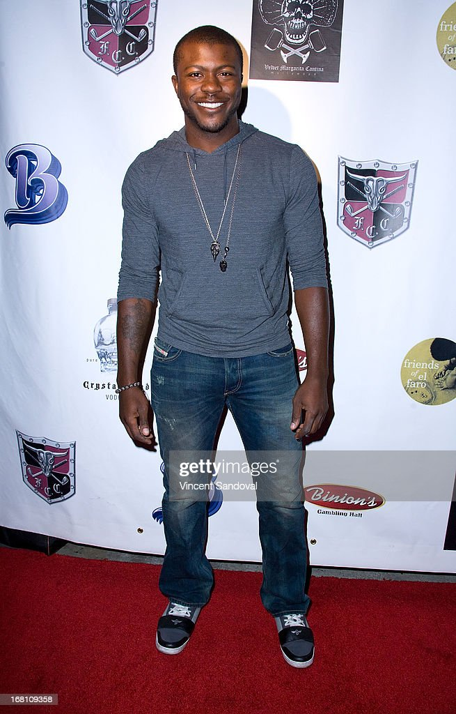 Actor Edwin Hodge attends the 10th annual anniversary and Cinco De Mayo benefit with annual Charity Celebrity Poker Tournament at Velvet Margarita on May 4, 2013 in Hollywood, California.