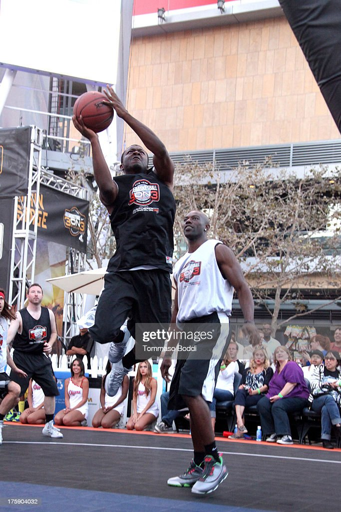 Actor <a gi-track='captionPersonalityLinkClicked' href=/galleries/search?phrase=Edwin+Hodge&family=editorial&specificpeople=2650969 ng-click='$event.stopPropagation()'>Edwin Hodge</a> attends the 5th annual Nike basketball 3ON3 tournament presented by NBC4 southern california held at L.A. LIVE on August 9, 2013 in Los Angeles, California.