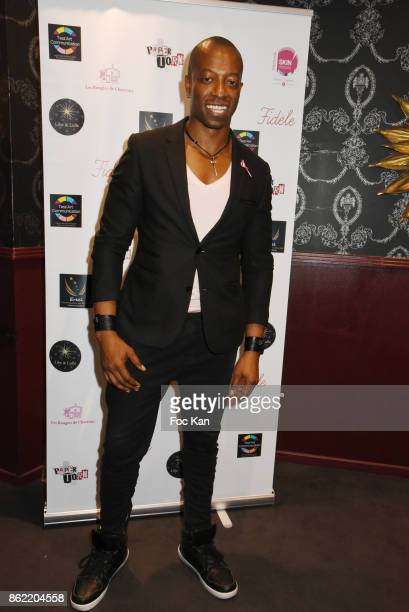 Actor Eebra Toore attends the 'Souffle de Violette' Auction Party As part of 'Octobre Rose' Hosted by Ereel at Fidele Club on October 16 2017 in...