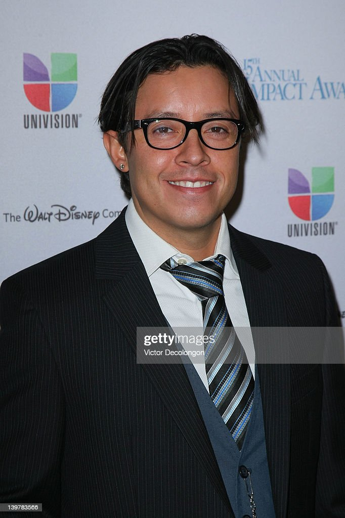 Actor <a gi-track='captionPersonalityLinkClicked' href=/galleries/search?phrase=Efren+Ramirez&family=editorial&specificpeople=226536 ng-click='$event.stopPropagation()'>Efren Ramirez</a> arrives for The National Hispanic Media Coalition's 15th Annual Impact Awards - Arrivals at the Beverly Wilshire Four Seasons Hotel on February 24, 2012 in Beverly Hills, California.