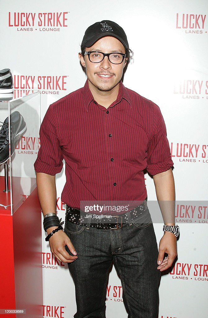 Actor <a gi-track='captionPersonalityLinkClicked' href=/galleries/search?phrase=Efren+Ramirez&family=editorial&specificpeople=226536 ng-click='$event.stopPropagation()'>Efren Ramirez</a> attends the Puma x Lucky Strike Bowling Shoe launch at Lucky Strike on July 28, 2011 in New York City.