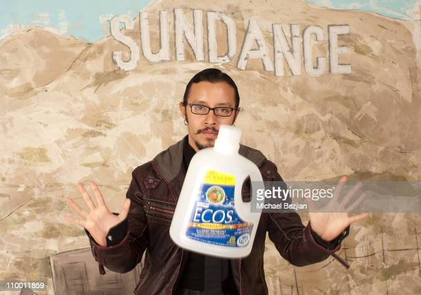 Actor Efren Ramirez attends the Skype And Earth Friendly Products Host Inauguration Viewing Party at the Green Lodge on January 20 2009 in Park City...