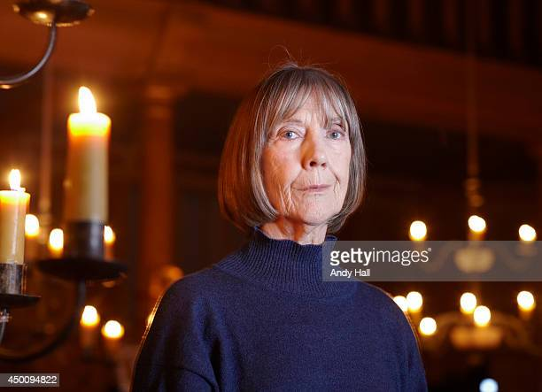 Actor Eileen Atkins is photographed for the Observer on January 15 2014 in London England