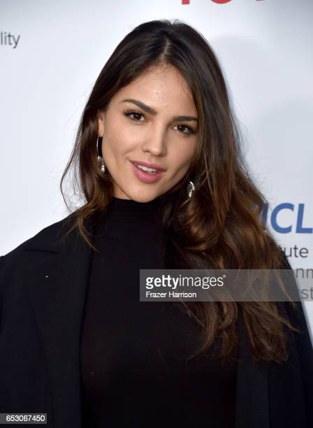 Actor Eiza Gonzalez at UCLA Institute of the Environment and Sustainability celebrates Innovators For A Healthy Planet at a private residence on...