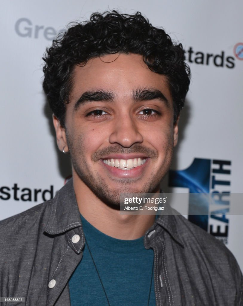 Actor E.J. Bonilla attends a screening of 1 Earth Productions' 'Greedy Lying Bastards' at Harmony Gold Theatre on March 6, 2013 in Los Angeles, California.