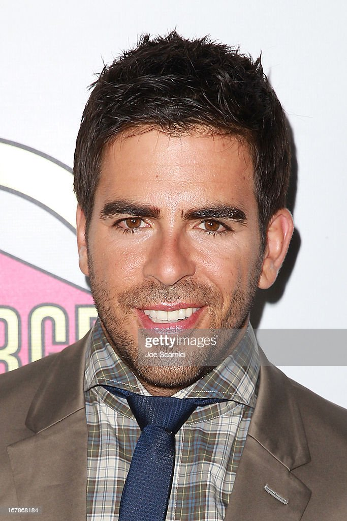 Actor Eli Roth arrives at the 'AFTERSHOCK' premiere presented by Dimension Films and RADiUS-TWC in partnership with Fatburger at on May 1, 2013 in Los Angeles, California.