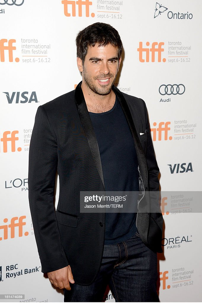 Actor <a gi-track='captionPersonalityLinkClicked' href=/galleries/search?phrase=Eli+Roth&family=editorial&specificpeople=543948 ng-click='$event.stopPropagation()'>Eli Roth</a> attends 'The Master' Premiere during the 2012 Toronto International Film Festival at Princess of Wales Theatre on September 7, 2012 in Toronto, Canada.