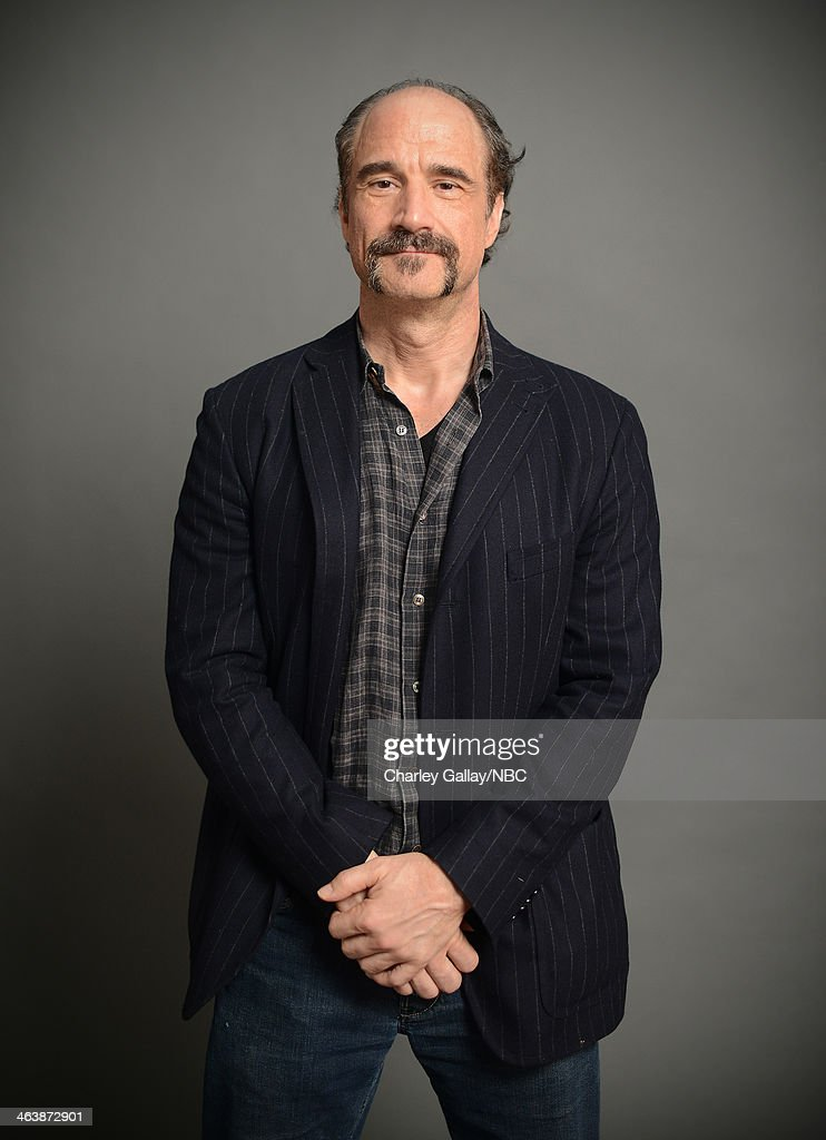 Actor <a gi-track='captionPersonalityLinkClicked' href=/galleries/search?phrase=Elias+Koteas&family=editorial&specificpeople=2109368 ng-click='$event.stopPropagation()'>Elias Koteas</a> attends the 2014 NBCUniversal TCA Winter Press Tour Portraits at Langham Hotel on January 19, 2014 in Pasadena, California.