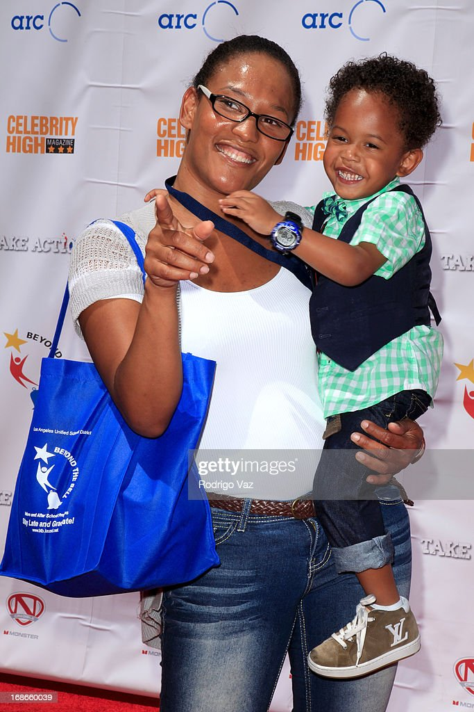 Actor Elias Washington arrives at LAUSD's Beyond the Bell Branch and Nick Cannon's Celebrity High Present 'Spotlight On Success' at Paramount Studios on May 11, 2013 in Hollywood, California.