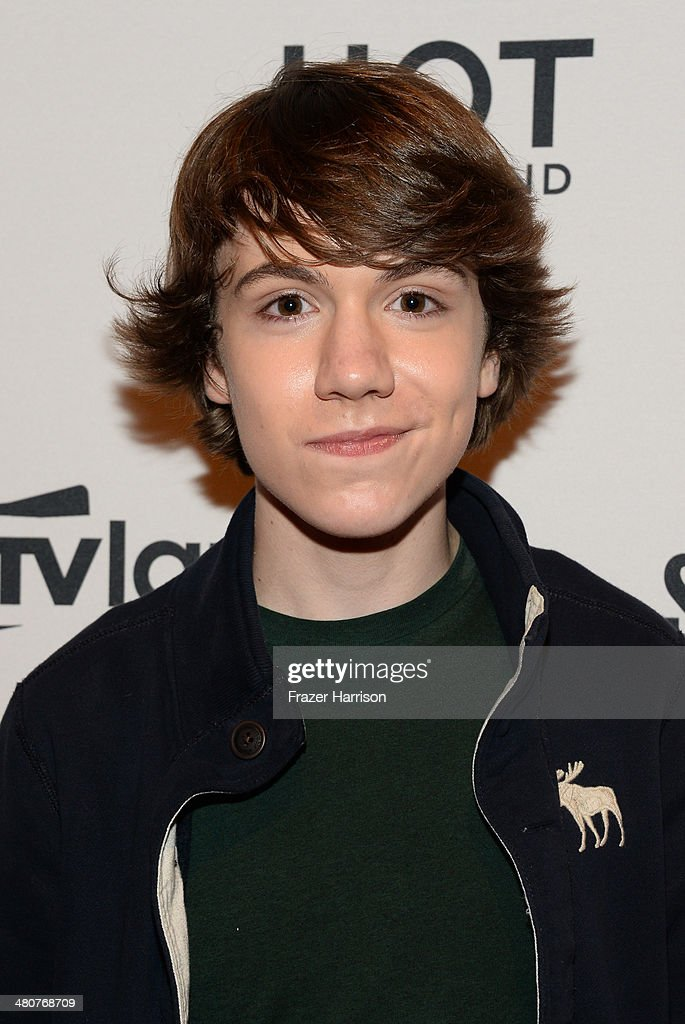 Actor Elijah Nelson attends the TV Land Goes LIVE! after party at the CBS Studio Center on March 26, 2014 in Studio City, California.