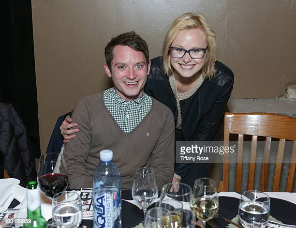 Actor Elijah Wood and Alison Pill attends ChefDance presented by Bravo's Top Chef Sponsored by SUJA Juices El Tesoro Tequila United Airlines on...