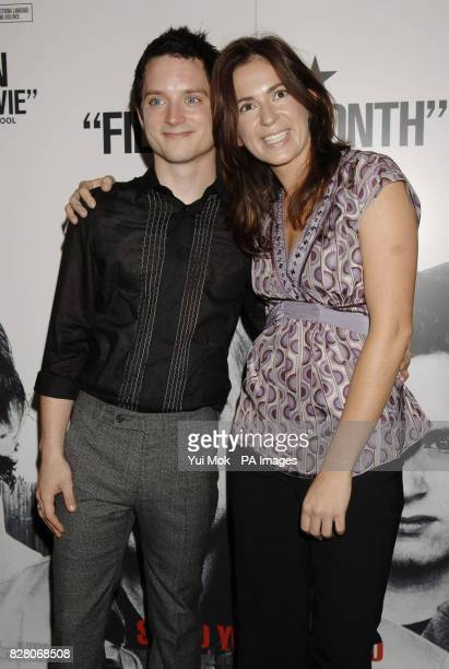 Actor Elijah Wood and film director Lexi Alexander arrive for the gala screening of their latest film Green Street Wednesday 24 August 2005 held at...