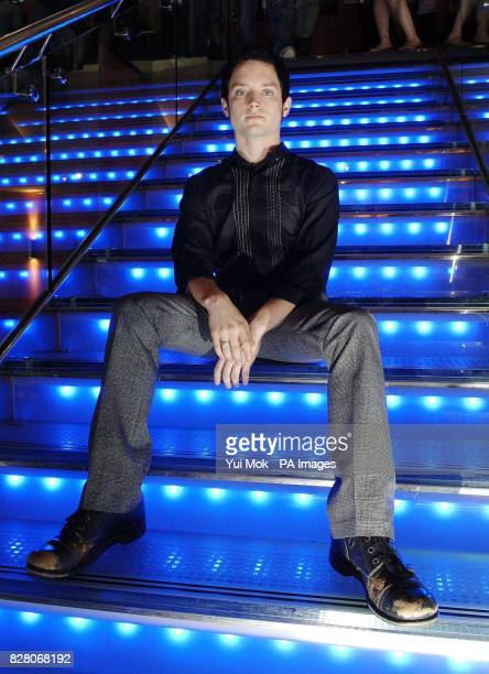 Actor Elijah Wood at the gala screening of his latest film Green Street Wednesday 24 August 2005 held at the Apollo West End cinema in central London...