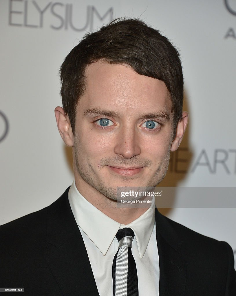 Actor <a gi-track='captionPersonalityLinkClicked' href=/galleries/search?phrase=Elijah+Wood&family=editorial&specificpeople=171364 ng-click='$event.stopPropagation()'>Elijah Wood</a> attends The Art of Elysium's 6th Annual HEAVEN Gala presented by Audi at 2nd Street Tunnel on January 12, 2013 in Los Angeles, California.