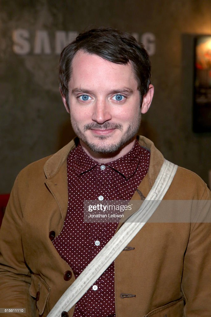 Actor Elijah Wood attends The Samsung Studio at SXSW 2016 on March 13 2016 in Austin Texas
