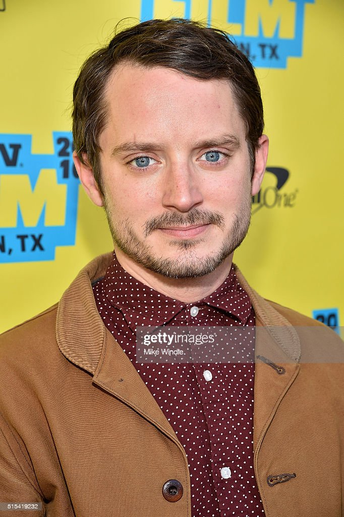 Actor Elijah Wood attends the screening of 'The Trust' during the 2016 SXSW Music Film Interactive Festival at Paramount Theatre on March 13 2016 in...