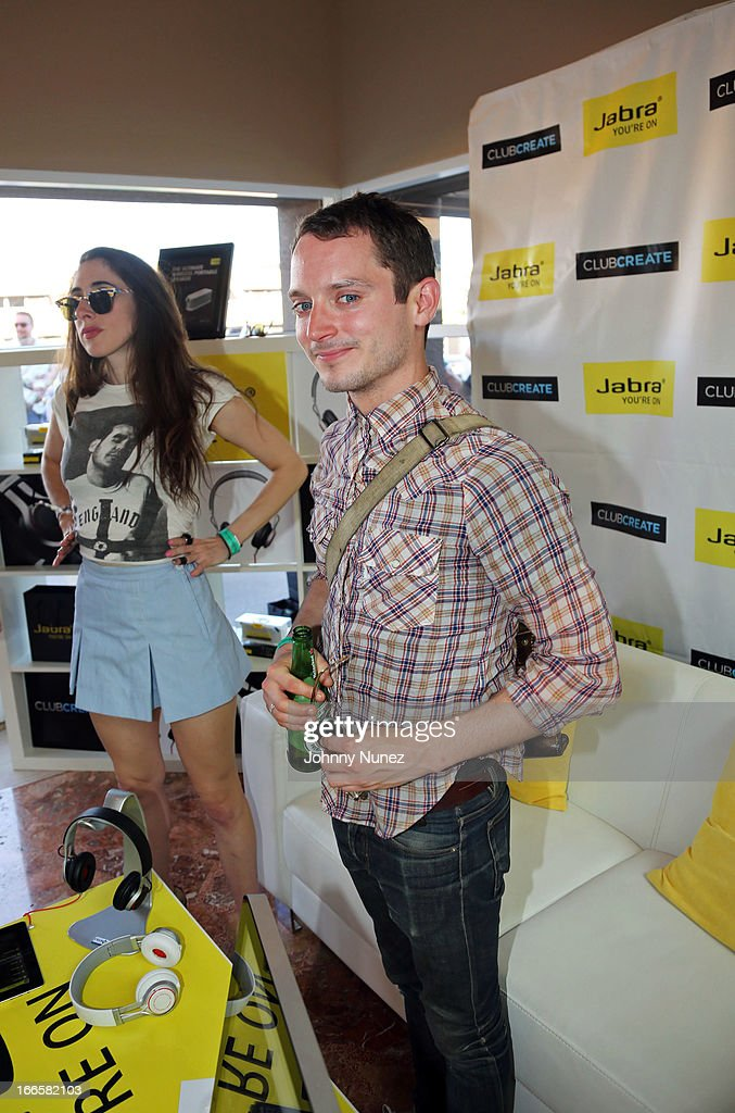 Actor <a gi-track='captionPersonalityLinkClicked' href=/galleries/search?phrase=Elijah+Wood&family=editorial&specificpeople=171364 ng-click='$event.stopPropagation()'>Elijah Wood</a> attends the Women Who Rock event, hosted by Kelly Rowland at day 2 of the Hard Rock Music Lounge at Hard Rock Hotel, Palm Springs, on April 13, 2013, in Palm Springs, California.