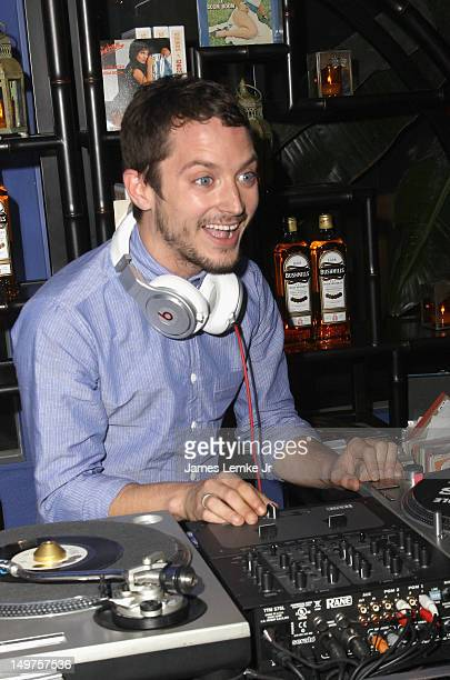 Actor Elijah Wood hosts Bushmills Irish Whiskey launch for ongoing program 'Since Way Back' held at The Marrakesh House on August 2 2012 in Culver...