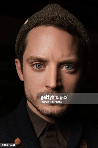 Actor Elijah Wood is photographed for Rolling Stone at the Sundance film festival on January 19 2017 in Park City Utah