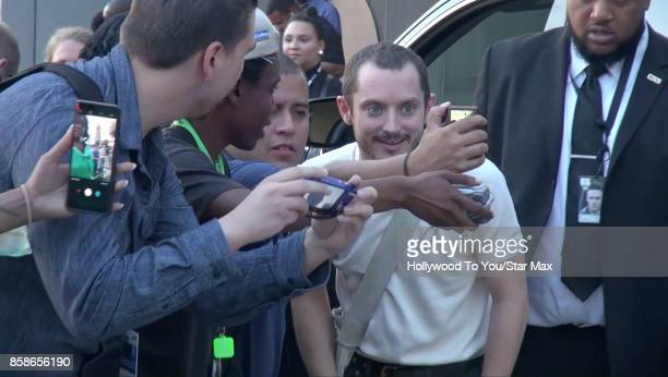 Actor Elijah Wood is seen at ComicCon New York on October 6 2017 in New York City
