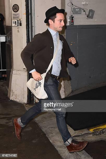 Actor Elijah Wood is seen in Soho on October 21 2016 in New York City