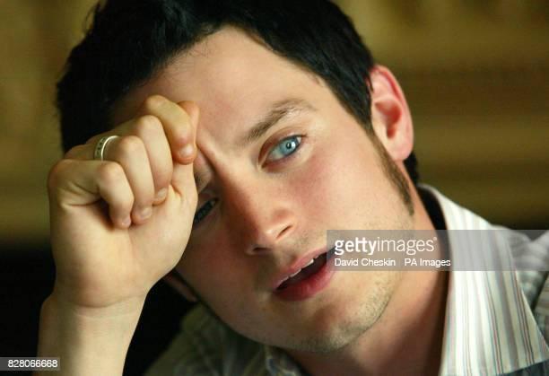 Actor Elijah Wood