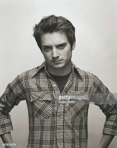 Actor Elijah Wood plays Frodo Baggins in the motion picture The Lord of the Rings The Two Towers