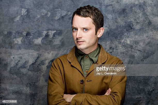 Actor Elijah Wood poses for a portrait at ComicCon International 2015 for Los Angeles Times on July 9 2015 in San Diego California PUBLISHED IMAGE...