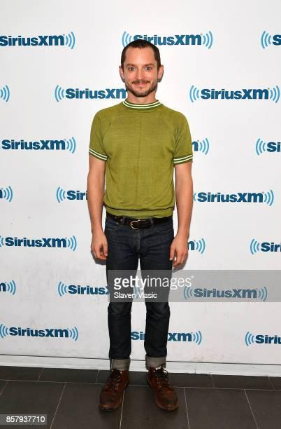 Actor Elijah Wood visits SiriusXM Studios on October 5 2017 in New York City