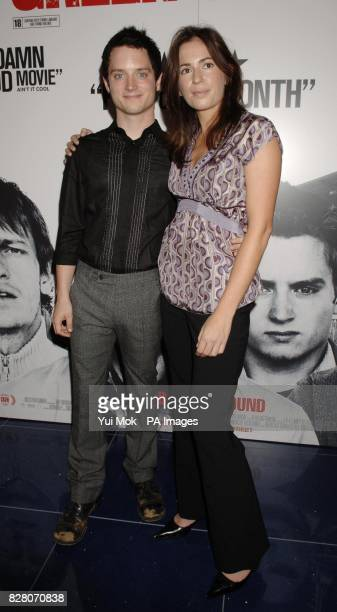 Actor Elijah Wood with director Lexi Alexander at the gala screening of their latest film Green Street Wednesday 24 August 2005 held at the Apollo...