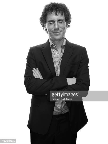 Actor Elio Germano is photographed for Vanity Fair Italy on November 10 2013 in Rome at the Rome Film Festival Italy