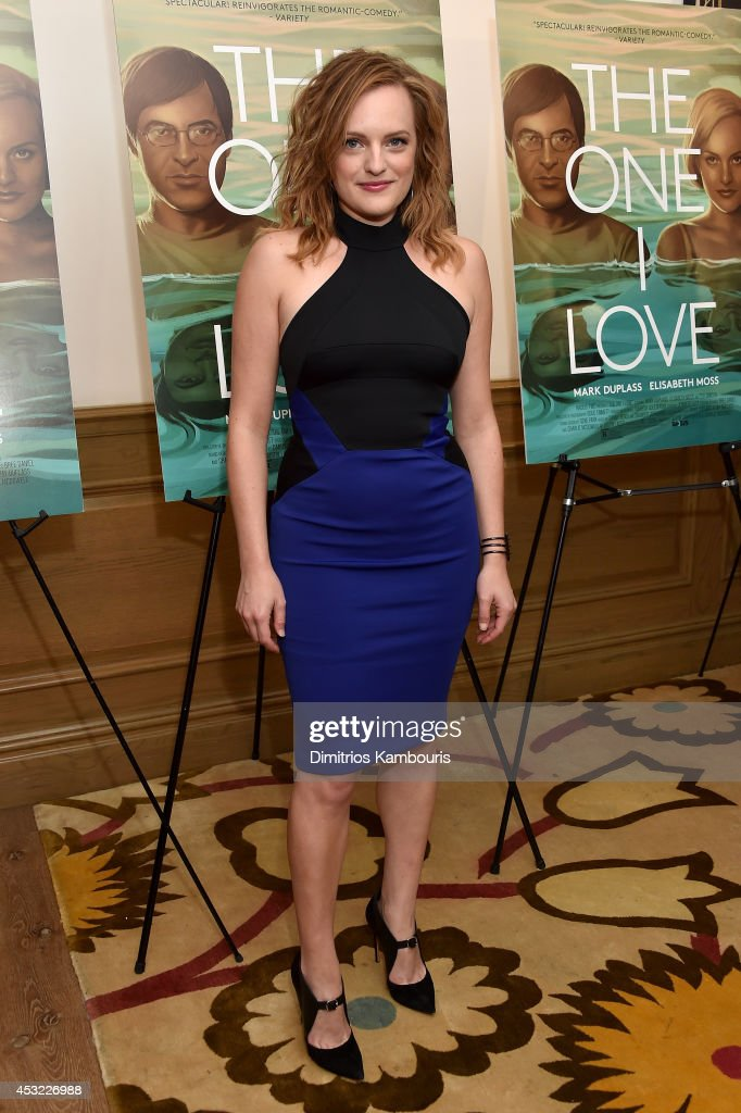 Actor <a gi-track='captionPersonalityLinkClicked' href=/galleries/search?phrase=Elisabeth+Moss&family=editorial&specificpeople=3079265 ng-click='$event.stopPropagation()'>Elisabeth Moss</a> attends 'The One I Love' New York Screening at the Crosby Street Theater on August 5, 2014 in New York City.