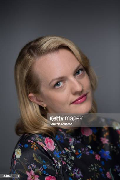 Actor Elisabeth Moss is photographed for the Hollywood Reporter on May 24 2017 in Cannes France