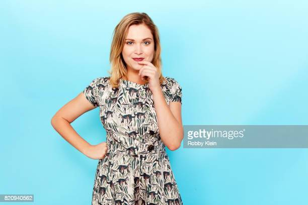 Actor Eliza Taylor poses for a portrait during ComicCon 2017 at Hard Rock Hotel San Diego on July 21 2017 in San Diego California