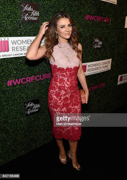 Actor Elizabeth Hurley attends WCRF's 'An Unforgettable Evening' presented by Saks Fifth Avenue at the Beverly Wilshire Four Seasons Hotel on...