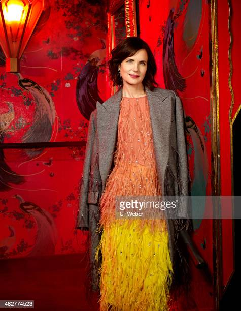 Actor Elizabeth McGovern is photographed for Grazia on December 5 2013 in London England