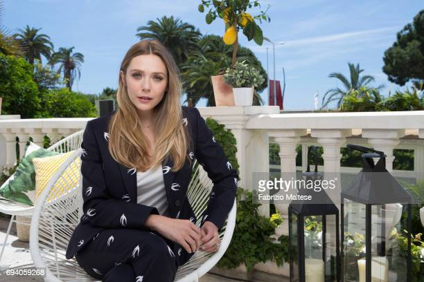Actor Elizabeth Olsen is photographed for the Hollywood Reporter on May 21 2017 in Cannes France