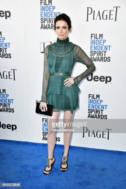 Actor Elizabeth Tulloch attends the 2017 Film Independent Spirit Awards at the Santa Monica Pier on February 25 2017 in Santa Monica California