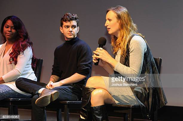 Actor Elliot Fletcher attends the MTV 'Transformation' Premiere Screening and Panel at Los Angeles LGBT Center on November 15 2016 in Los Angeles...