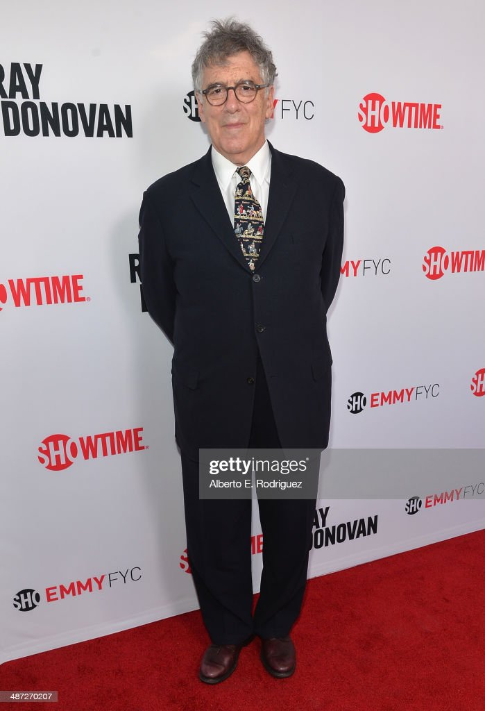 Actor Elliot Gould arrives to an exclusive conversation with the cast of Showtime's 'Ray Donovan' at Leonard H Goldenson Theatre on April 28 2014 in...
