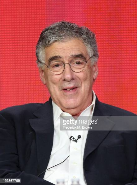 Actor Elliott Gould of 'Ray Donovan' speaks onstage during the Showtime portion of the 2013 Winter TCA Tour at Langham Hotel on January 12 2013 in...