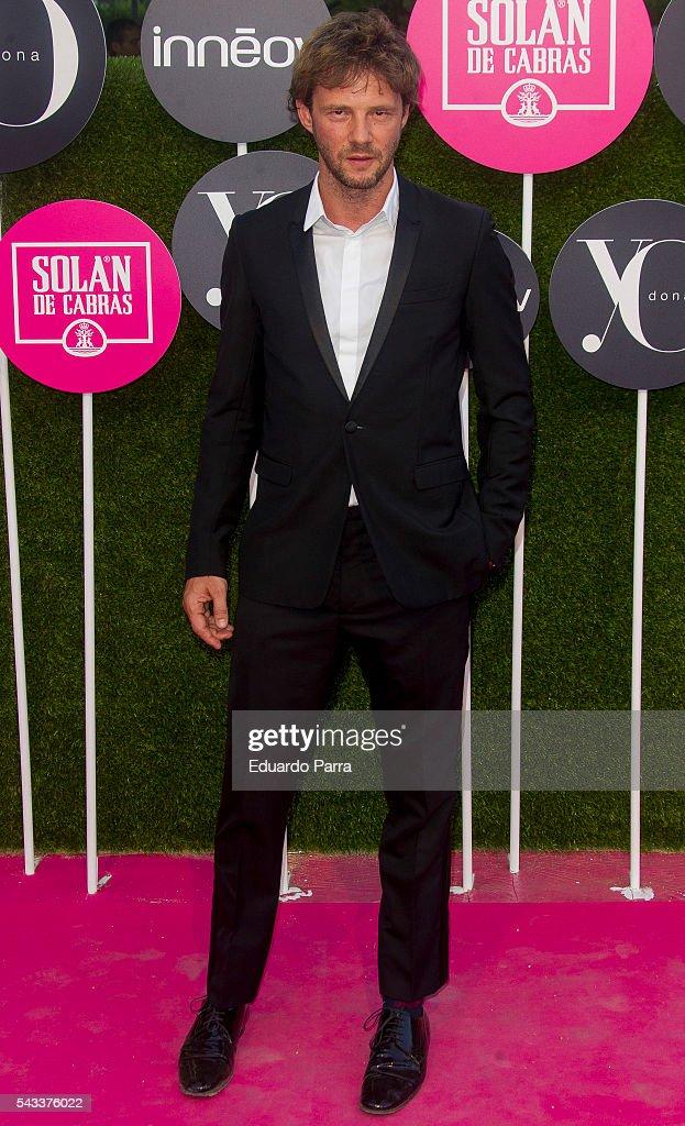 Actor Eloy Azorin attends the 'Yo Dona' international awards at La Quinta de la Munoza on June 27, 2016 in Madrid, Spain.