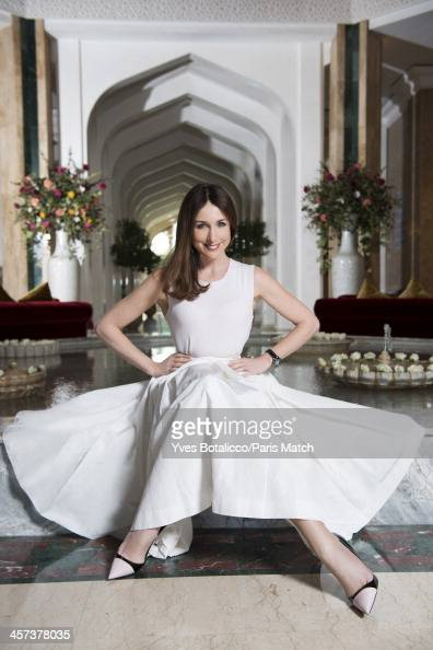 Actor Elsa Zylberstein is photographed for Paris Match on November 29 2013 in Marrakech Morocco