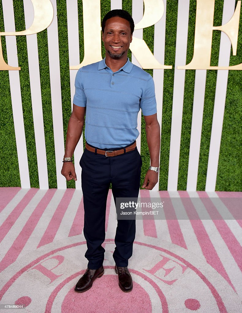 Actor Elvis Nolasco attends the 2015 BET Awards Debra Lee Pre-Dinner at Sunset Tower Hotel on June 24, 2015 in Los Angeles, California.