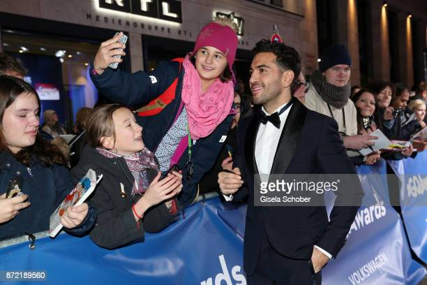 Actor Elyas M Barek arrives for the GQ Men of the year Award 2017 at Komische Oper on November 9 2017 in Berlin Germany