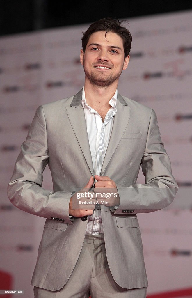 Actor Emanuele Bosi attends 'Trilussa, Storia d'Amore e di Poesia' premiere during the 2012 RomaFictionFest at Auditorium Parco della Musica on October 4, 2012 in Rome, Italy.