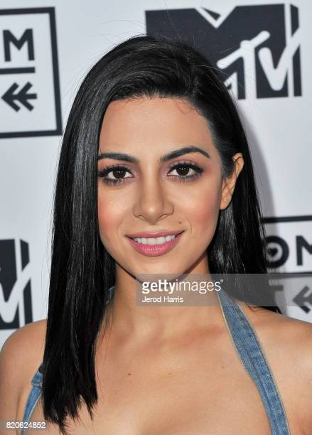 Actor Emeraude Toubia attends MTV Fandom Fest at PETCO Park on July 21 2017 in San Diego California