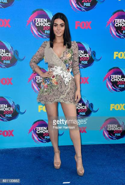 Actor Emeraude Toubia attends the Teen Choice Awards 2017 at Galen Center on August 13 2017 in Los Angeles California