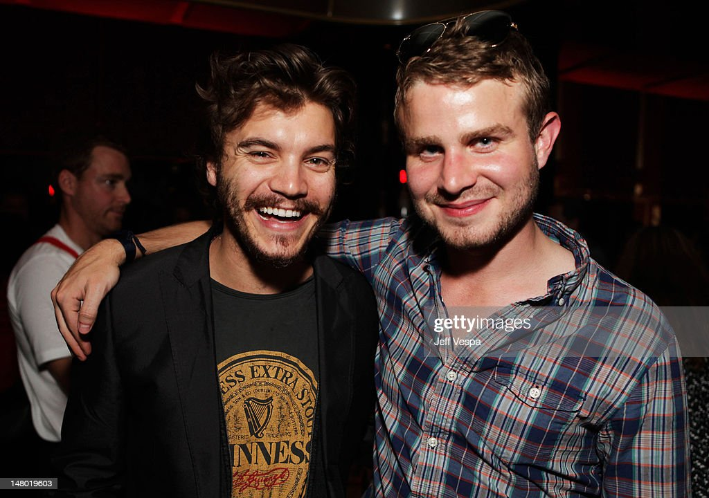 Actor <a gi-track='captionPersonalityLinkClicked' href=/galleries/search?phrase=Emile+Hirsch&family=editorial&specificpeople=210805 ng-click='$event.stopPropagation()'>Emile Hirsch</a> (L) and actor <a gi-track='captionPersonalityLinkClicked' href=/galleries/search?phrase=Brady+Corbet&family=editorial&specificpeople=217470 ng-click='$event.stopPropagation()'>Brady Corbet</a> attend the Fox Searchlight Pictures, Belvedere Vodka And Vanity Fair Celebration of 'Martha Marcy May Marlene' And 'The Descendants' at the 2011 Toronto International Film Festival at the Thompson Hotel on September 10, 2011 in Toronto, Canada.