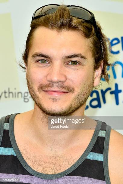 Actor Emile Hirsch arrives at Children Mending Hearts' 6th Annual Fundraiser 'Empathy Rocks A Spring Into Summer Bash' on June 14 2014 in Beverly...